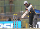 Thilan Samaraweera on way to his highest T20 score of 71, Kandurata Warriors v Uthura Rudras, SLPL, Pallekele, August 18, 2012