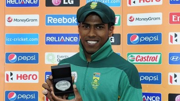 Prenelan Subrayen was adjudged the man of the match for his spell of 4 for 24