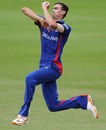 Reece Topley took three wickets, England v South Africa, quarter-final, ICC Under-19 World Cup 2012, Townsville, August 19, 2012