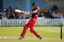 Oliver Newby was Lancashire's top-scorer with 36 not out