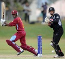 West Indies' Akeal Hosein scored a half-century, New Zealand v West Indies, quarter-final, ICC Under-19 World Cup 2012, Townsville, August 20, 2012