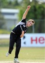 Matthew Quinn took three wickets, New Zealand v West Indies, quarter-final, ICC Under-19 World Cup 2012, Townsville, August 20, 2012