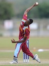 Seamer Ronsford Beaton took three wickets, New Zealand v West Indies, quarter-final, ICC Under-19 World Cup 2012, Townsville, August 20, 2012