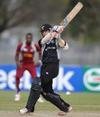 Cam Fletcher scored 49, New Zealand v West Indies, quarter-final, ICC Under-19 World Cup 2012, Townsville, August 20, 2012