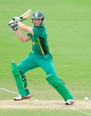 Murray Coetzee cuts on his way to 50, Australia v South Africa, ICC Under-19 World Cup semi-final, Townsville, August 21, 2012