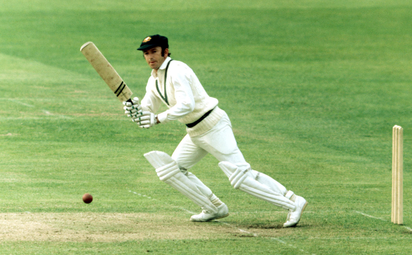 The famous fellow debutant: Doug Walters went on to play 73 more Tests after sharing a debut with Allan