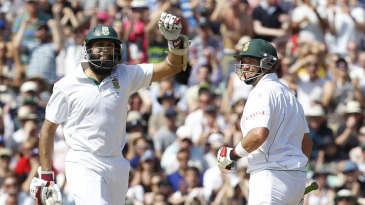 Hashim Amla and Jacques Kallis added a record stand