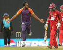 Wahab Riaz took three wickets