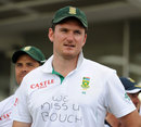 Graeme Smith wears a message for Mark Boucher, England v South Africa, 3rd Investec Test, The Oval, 5th day, August 21, 2012