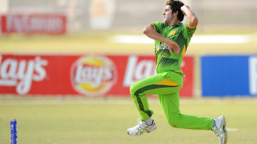 Mir Hamza was the pick of the Pakistan bowlers with 3 for 44