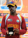 Derone Davis was adjudged Man of the Match for his all-round show, Pakistan v West Indies, ICC Under-19 World Cup 5th place play-off semi-final, Townsville, August 22, 2012