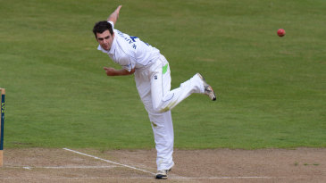 David Wainwright took 3 for 99 with his left-arm spin