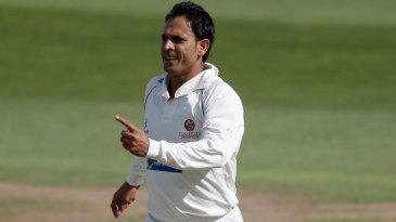 Abdur Rehman claimed the wicket of Murray Goodwin early on