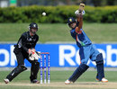 Opener Prashant Chopra set up India with a half-century, India v New Zealand, ICC Under-19 World Cup, semi-final, Townsville, August 23, 2012