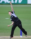 Ben Horne was the most successful bowler for New Zealand, India v New Zealand, ICC Under-19 World Cup, semi-final, Townsville, August 23, 2012