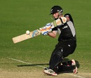 Cam Fletcher pulls towards square-leg, India v New Zealand, ICC Under-19 World Cup, semi-final, Townsville, August 23, 2012