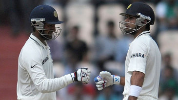 Cheteshwar Pujara and Virat Kohli were involved in a century stand