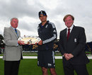 Alastair Cook was presented with the ODI shield before play, England v South Africa, 1st NatWest ODI, Cardiff, August 24, 2012