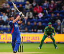 Ian Bell hit two sixes in his brief innings, England v South Africa, 1st NatWest ODI, Cardiff, August 24, 2012
