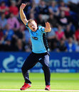 Scott Styris took three early wickets for Sussex, Sussex v Yorkshire, Friends Life t20 1st semi-final, Cardiff, August 25, 2012