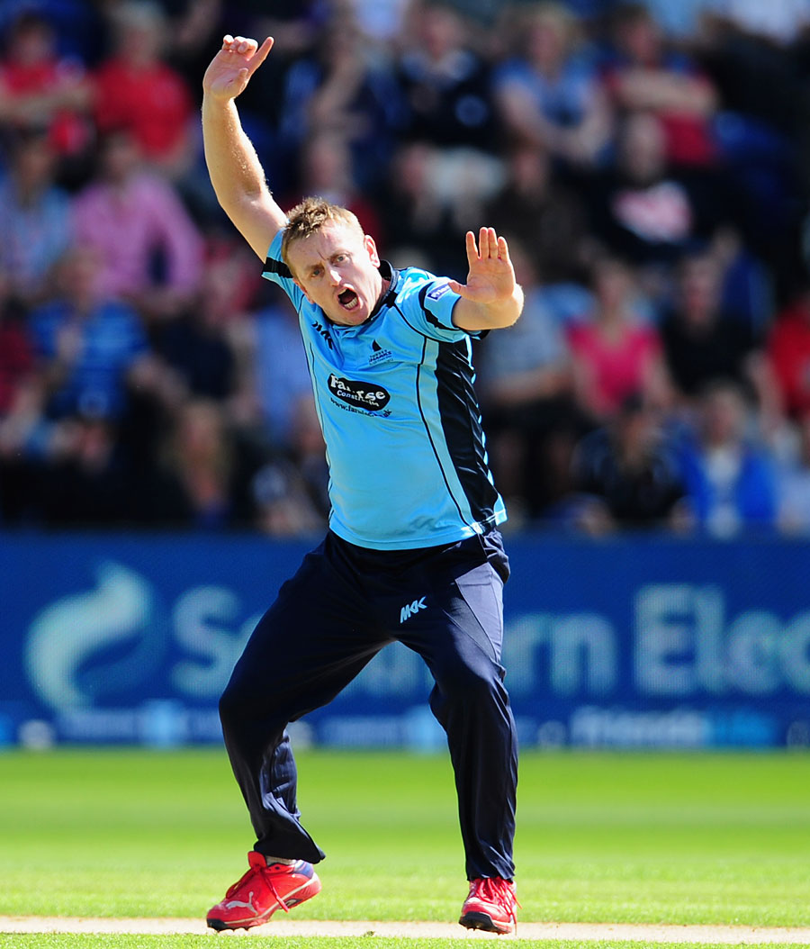 Scott Styris took three early wickets for Sussex