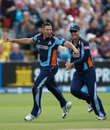 Tim Bresnan took the key wicket of Matt Prior, Sussex v Yorkshire, Friends Life t20 1st semi-final, Cardiff, August 25, 2012
