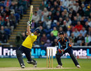 Sean Ervine goes down the ground, Yorkshire v Hampshire, Friends Life t20 final, August 25, 2012