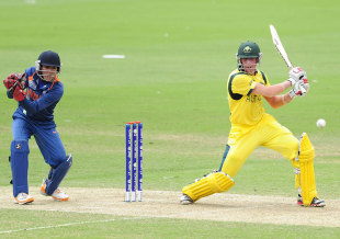 William Bosisto made an unbeaten 87, Australia v India, ICC U-19 World Cup, final, Townsville, August 26, 2012