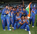 India Under-19s get together for a group photo, Australia v India, ICC U-19 World Cup, final, Townsville, August 26, 2012