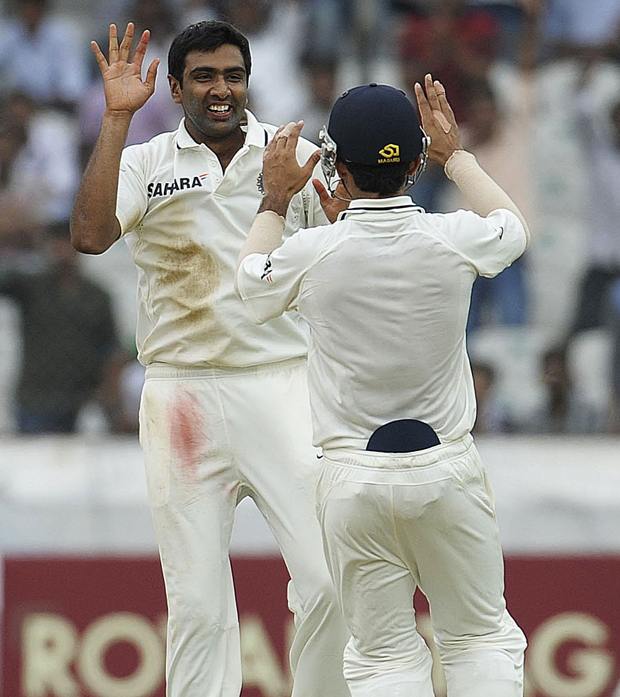 R Ashwin took back-to-back six-wicket hauls