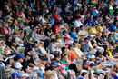 A good Sunday crowd for the World Cup final, Australia v India, ICC U-19 World Cup, final, Townsville, August 26, 2012