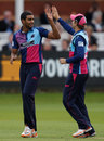 Gurjit Sandhu took three wickets on his limited-overs debut, Middlesex v Essex, CB40 Group A, Lord's, August 27, 2012