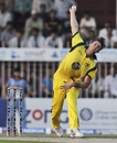 James Pattinson bowls in Sharjah