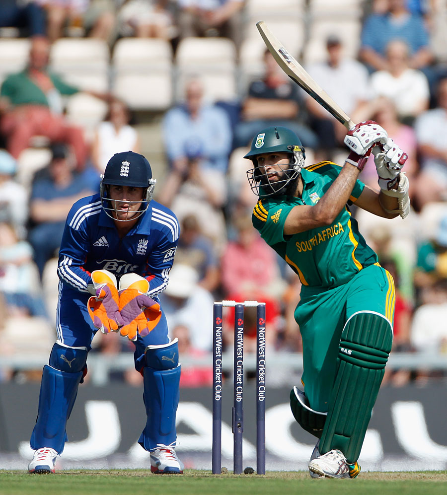 Hashim Amla struck a career-best 150