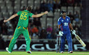 Morne Morkel returned to dismiss Samit Patel and end the England innings, England v South Africa, 2nd NatWest ODI, West End, August 28, 2012