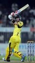 Glenn Maxwell clips one away fine, Pakistan v Australia, 1st ODI, Sharjah, August 28, 2012