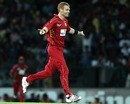 Uva's Andrew McDonald celebrates a wicket, Uva v Nagenahira, SLPL, final, Colombo, August 31, 2012