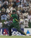 Nasir Jamshed drives one through the off side