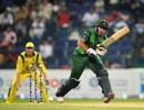 Nasir Jamshed works the ball to leg