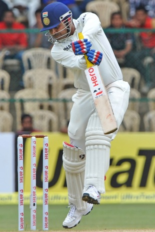 File photo: Virender Sehwag made an early mark on the series with a run-a-ball hundred (ESPNcricinfo will not be carrying live/action pictures from the India v England series due to restrictions placed on agency photographers covering the matches)