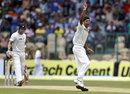 Umesh Yadav successfully appeals for Brendon McCullum's wicket
