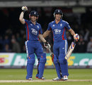 Eoin Morgan and Craig Kieswetter saw England home, England v South Africa, 4th ODI, Lord's, September 2, 2012