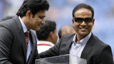 The Karnataka State Cricket Association felicitated Sunil Joshi