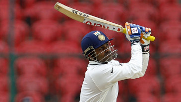 Virender Sehwag hits out during his 38 off 33