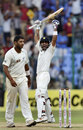 Virat Kohli roars after the winning runs are hit, India v New Zealand, 2nd Test, Bangalore, 4th day, September 3, 2012