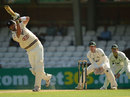 Kevin Pietersen drives for four down the ground