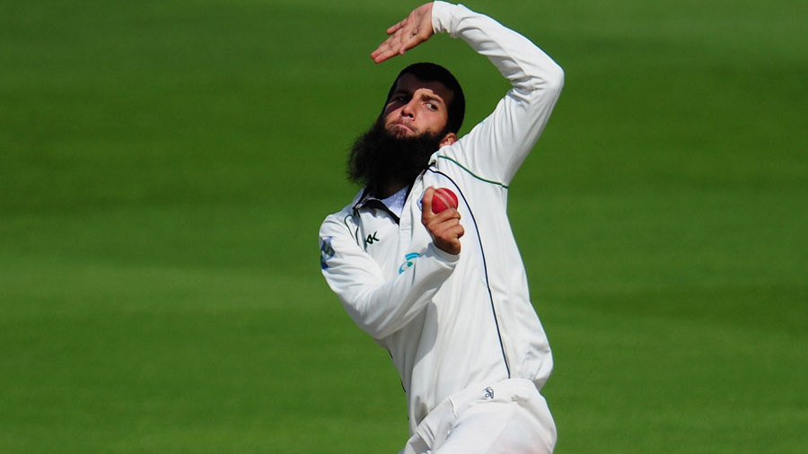 Moeen Ali picked up two wickets