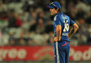 Alastair Cook looks on as the game slips away, England v South Africa, 5th NatWest ODI, Trent Bridge, September, 5, 2012