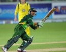 Kamran Akmal goes through the off side, Pakistan v Australia, 1st T20I, Dubai, September 5, 2012