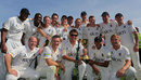Warwickshire pose with the County Championship trophy